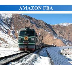Train d'expédition de fret Fast Amazon Rail à l'Europe France