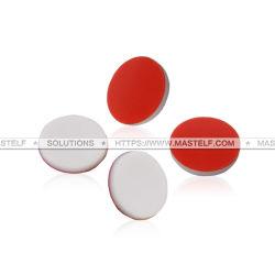 Mastelfのテフロン隔壁、8X1.3mm赤いPTFE/Whiteのシリコーンの隔壁