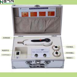 Ordinateur portable case Se connecter les poils du visage de l'analyseur de la peau