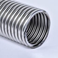 스테인리스 304 강철에 의하여 주름을 잡는 유연한 금속 관 또는 호스 또는 관