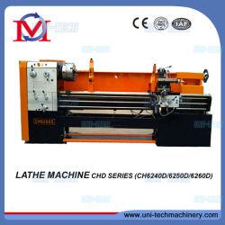 CH6250b hohe Leistungsfähigkeits-Metallabstands-Bett-Drehbank-drehenhilfsmittel-Maschine