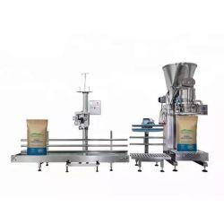 DJ-1c1 in acciaio inox semi automatico doppia coclea alimentando 10 kg 25 kg Sacco grande latte /proteine/caffè/spezie/detergente/ riempimento polvere Packaging macchina per imballaggio