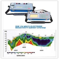 地下水の検出、探鉱器械、地質水資源の調査、地下水の探鉱をを探鉱している水発見者、地下水の検出、水