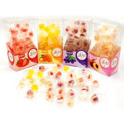중국 공장 최신 판매 싼 가격 과일 묵 사탕