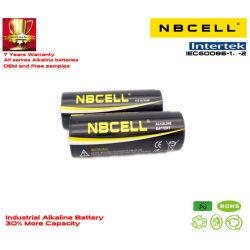 적외선 이마 온도계를 위한 420mins 1.5V Lr6 AA 최고 알칼리성 건조한 산업 건전지