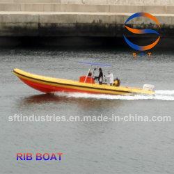 7,5 m Air Bag Inflável Hypalon borracha PVC Barco Costela de alumínio