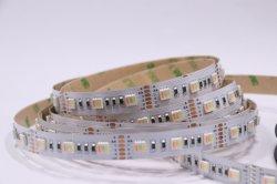 5050 SMD Rgbww 5bandes de couleur dans un voyant LED étanche Bande souple Les lumières de Noël de plein airdouce Bande de la lampe à LED