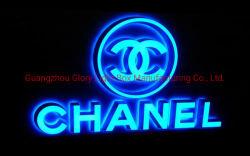 Горит сигнальная лампа переднего вывески акрил световой индикатор Standard Channel письмо