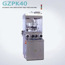 Tablet rotativo de alta velocidade automática Pressione Machine Equipamento Pharmceutical Gzpk40