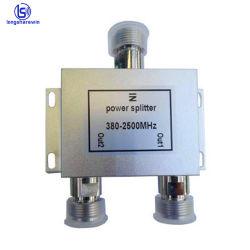 prix d'usine 380-2500MHz N femelle connecteur jack doubleur de gamme du diviseur de d'alimentation microruban RF