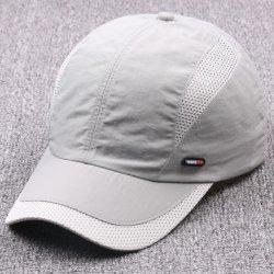 Capuchon pare-adulte personnalisé de l'été Hat 6 panneaux de sport de haute qualité Hat Fashion Casquette de baseball de maillage