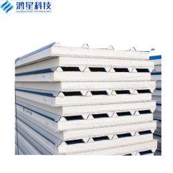 Цвет стальной огнеупорные структурных изолированные стены и крыша полистирол/EPS Сэндвич панели в сегменте панельного домостроения в дом/склада/холодильник
