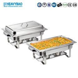 Heavybao buffet Set Food Warmer Pot piatti in acciaio inossidabile Chafer