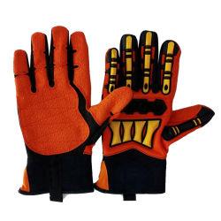 Beste kwaliteit impact Mechanische handschoenen / Anti-Vibration Handschoenen / Olie & Gas Industries veiligheidshandschoenen, impact Handschoenen
