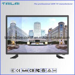 Rétroéclairage LED 18,5 pouces HD avec HDMI VGA USB coaxial TV à écran large