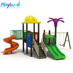 Parque de Diversões no exterior para jardins Swing Swing e conjunto de slides Kids
