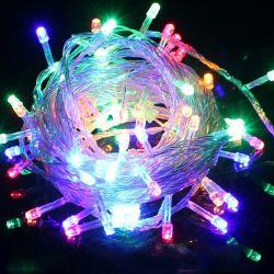 Decoração de Natal 2019 Natal o fio de cobre de LED luzes de String