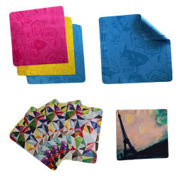 De Oogglazen die van Microfiber Handdoek, Schotel/Keuken/Auto/Camera/de Schoonmakende Doek van het Venster schoonmaken