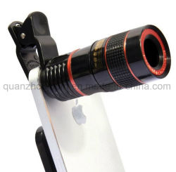 8X HD OEM Teléfono móvil celular, la lente de zoom Clip
