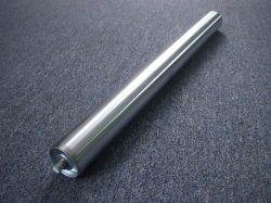 La gravité de rouleaux de transporteur en acier inoxydable pour le bac, pneus, boîte en plastique, carton de papier