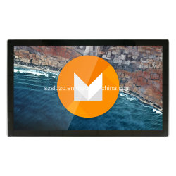 Ecrã táctil LCD de 21 polegadas Eletrônico Digital Photo Frame