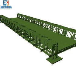Fascio strutturale d'acciaio durevole dell'acciaio del Bailey di specifica del ponticello di Bailey