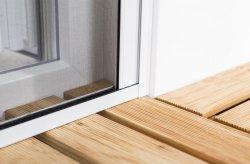С ПВХ изоляцией из стекловолокна комара насекомых экрана сверните окно для полетов на экране