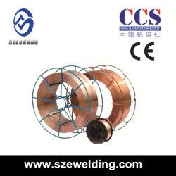 Collegare di saldatura a gas protettivo di MIG del CO2 Er70s-6, bobina del metallo D270/bobina di plastica