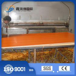 Chinesische Lieferanten-Melamin-Kurzschluss-Schleife-Laminierung-heißer Presse-Produktionszweig