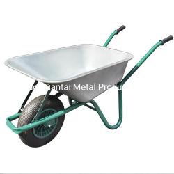 도매업자를 위한 원예용 도구 사용법 하나 바퀴 플라스틱 외바퀴 손수레