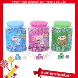De gemengde Kubus van /Yogurt van de Kubus van het Suikergoed van de Tablet van de Melk van de Kubus/van de Melk/van de Melk/het Zoete Vierkante Romige Suikergoed van de Kubus Choco