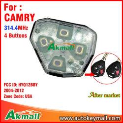 El remoto inteligente tecla Auto sin cáscara Hyq12bby Camry con 4 botones 314.4MHz se utiliza para ESTADOS UNIDOS 2004-2012