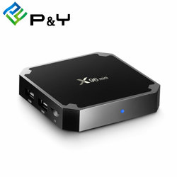 Amlogic S905W Android TV Box X96 Mini 1g 8g Mini PC Smart TV Box Android 7.1.2 Set Top Box avec le câble HDMI Android Set Top Box