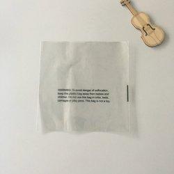 Los envases de plástico Camiseta clara autoadhesiva Poly bolsa con la sofocación aviso