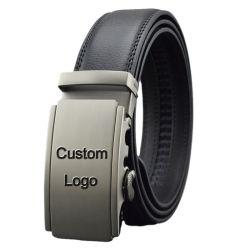 Custom Luxury Business Top Grain Automatic Genuine Leather men′ S. Modegordel