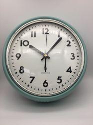 Wave Wall Clock Metal and Glass Arch Wall Clock Home/Office ديكور المنزل الترويج الترويجية Giftclock الحركة راديو Wave Wall Clock