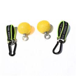 97mm Non-Slip PU agarre balón Deportes al aire libre Gimnasio Fitness Indoor empujar la bola