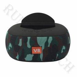 مشغل موسيقى LP-V8 الجهير مشغّل لاسلكي حامل هاتف لاسلكي مكبر صوت Bluetooth