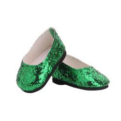 أزياء مخصصة أحذية الأمازون أوكازيون ساخن 18 بوصة دوليل الأمريكية ردية تتمة يدوية الصنع أحذية فتاة دمية