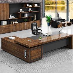 ハイエンド L 字型エグゼクティブオフィステーブル木製ボスオフィス 机
