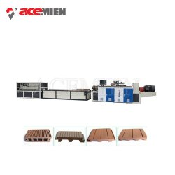 آلة صنع الطرد البلاستيكية المصنوعة من البلاستيك PP PE PVC WPC الخشبية مع شهادة CE