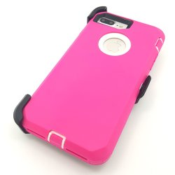 Defender el caso para el iPhone 7/8 Belt-Clip caso funda resistente de cuerpo completo el caso de servicio pesado, el Shock/CAE/prueba de polvo 3en1 Tapa rígida de protección de iPhone 7 iPhone8