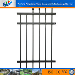 Metalltreppen-Geländer-Roheisen-Entwurfs-Aluminiumpfosten-Zaun-Balustrade