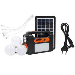 Мини-проектов солнечные энергетические системы освещения 6 В Солнечной системе генератора 3W солнечными панелями солнечной энергии системы с помощью громкоговорителя дома