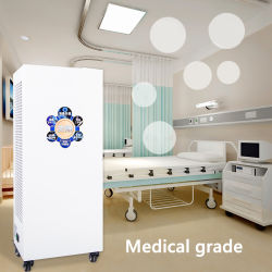 230W che il potere UV-C ha certificato medicamente l'aria ionizzano il purificatore UV-C fissato al muro dell'aria dell'anione dei veicoli HEPA del pulitore di disinfezione
