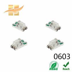 아주 공정 가격 1608 SMD LED 칩 Rb 이색 빨간 파란 이중 칩