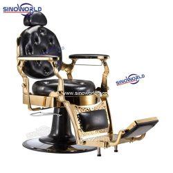 Sedie antiche Barbiere Gold vintage Hydraulic Salon sedia per parrucchieri