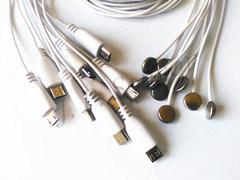 Médicos de la piel de la sonda de cable del sensor Sensor de temperatura