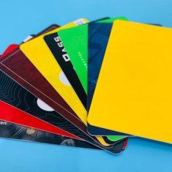 Tarjeta profesional de preimpresión de fabricación MIFARE Classic EV1 1K de PVC de 4K de la tarjeta RFID inteligente sin contacto