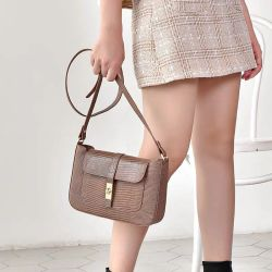 Sacos de moda de bloqueio Fake Lagartos Bolsa de pele de alta qualidade Saco Mulheres Clássico